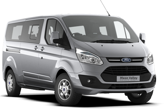 Our brand new Ford Tourneo Custom 8 seater
